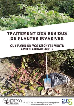 Traitement des résidus de plantes invasives